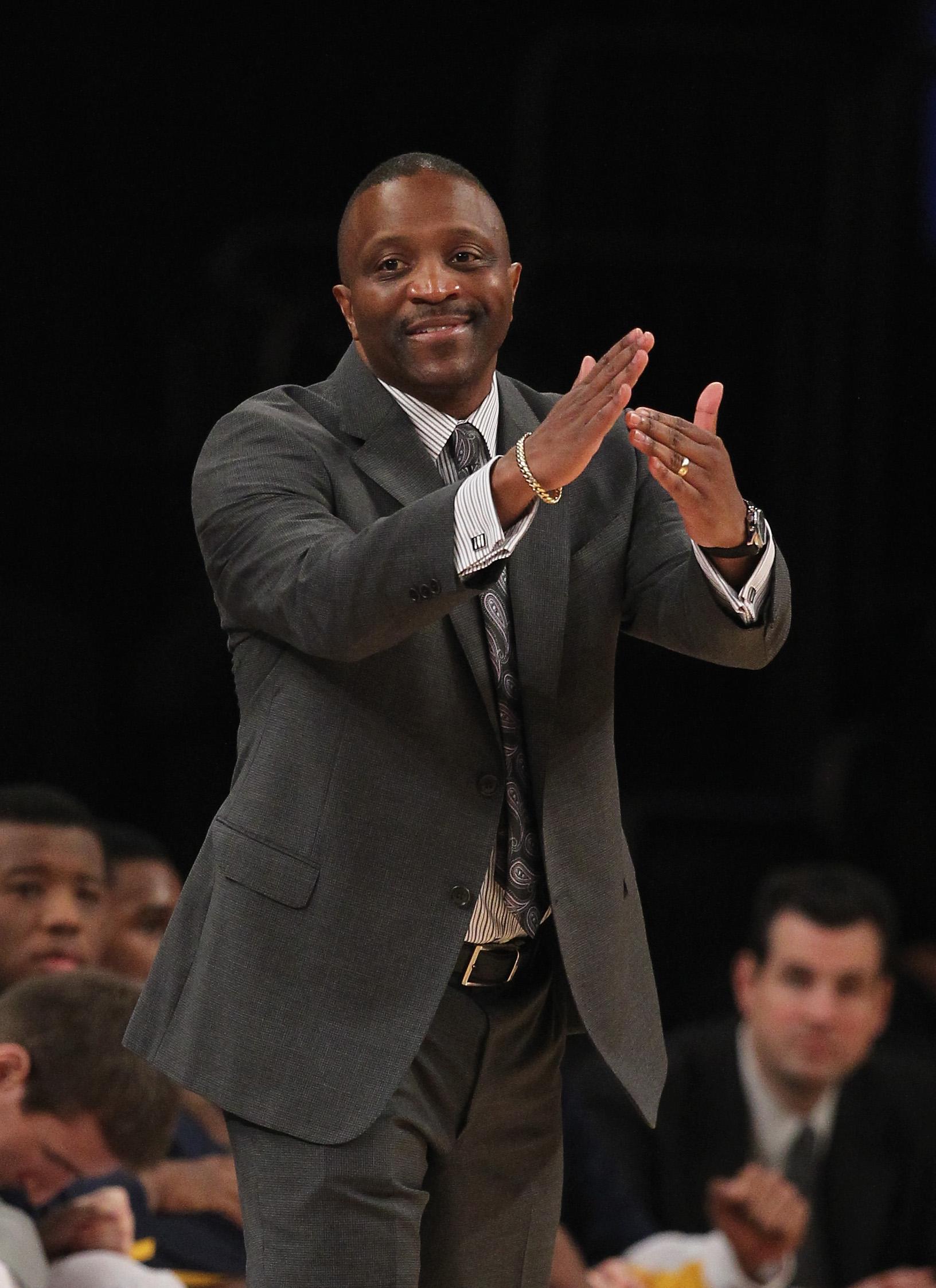 Drexel head coach Bruiser Flint
