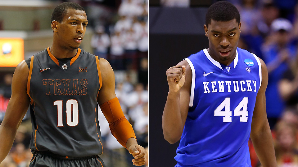 Jonathan Holmes leads Texas into Rupp Arena. Can the Longhorns topple mighty Kentucky?