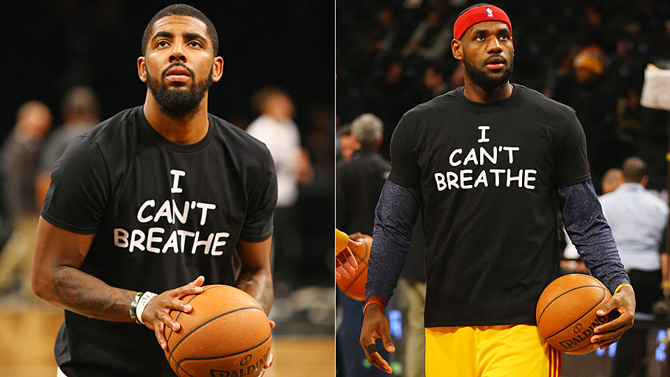 Kyrie Irving, Lebron James address reasons behind wearing \u0027I can\u0027t breathe\u0027  shirts | SI.com