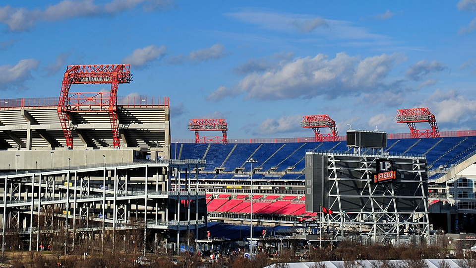 The game will be played at LP Field in Nashville.