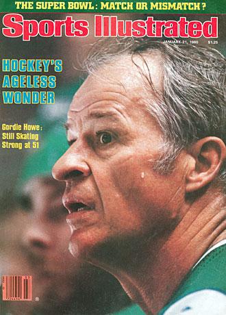 Gordie Howe cover