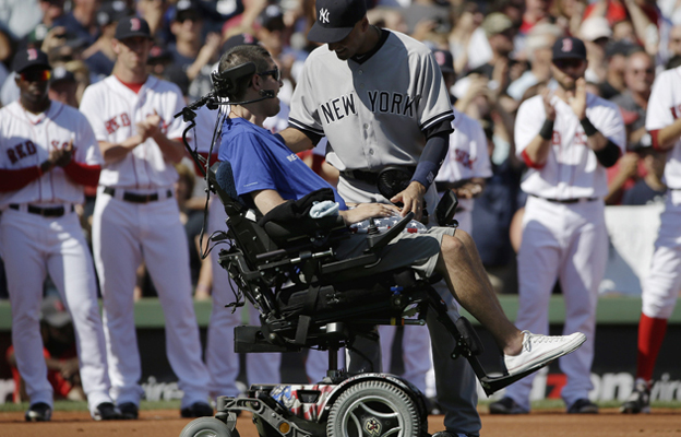 Pete Frates was named SI's Inspiration of the Year.
