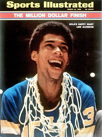 Despite winning three national titles, life wasn't all smiles for Abdul-Jabbar, then known as Lew Alcindor, at UCLA.
