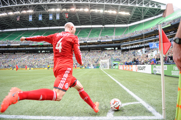 Michael Bradley left AS Roma for Toronto FC in a shocking transfer and return to MLS.