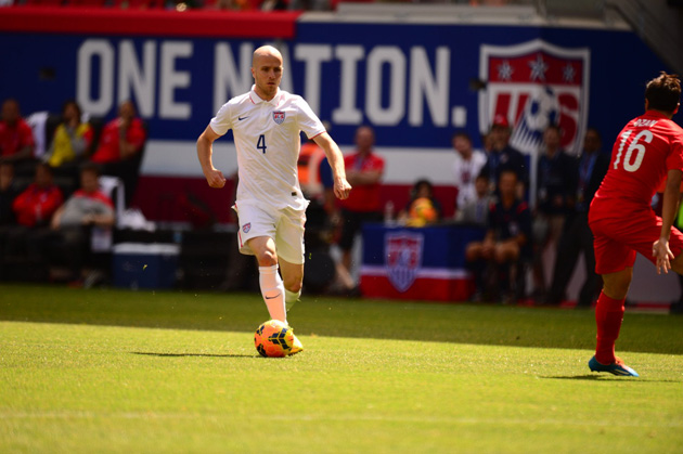 Michael Bradley has been deployed in more of an attacking role than he has been accustomed to under U.S. manager Jurgen Klinsmann.