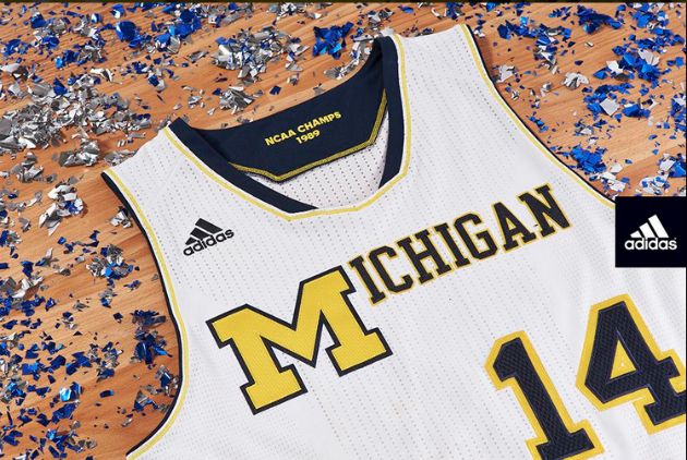 Michigan throwback 1989 uniform