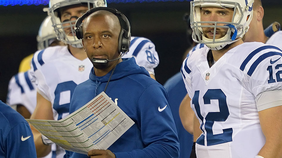 The Bills have reportedly requested an interviw with Colts OC Pep Hamilton