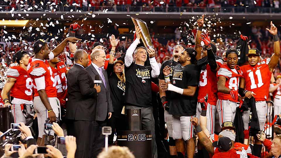Ohio State celebrates National Champinship