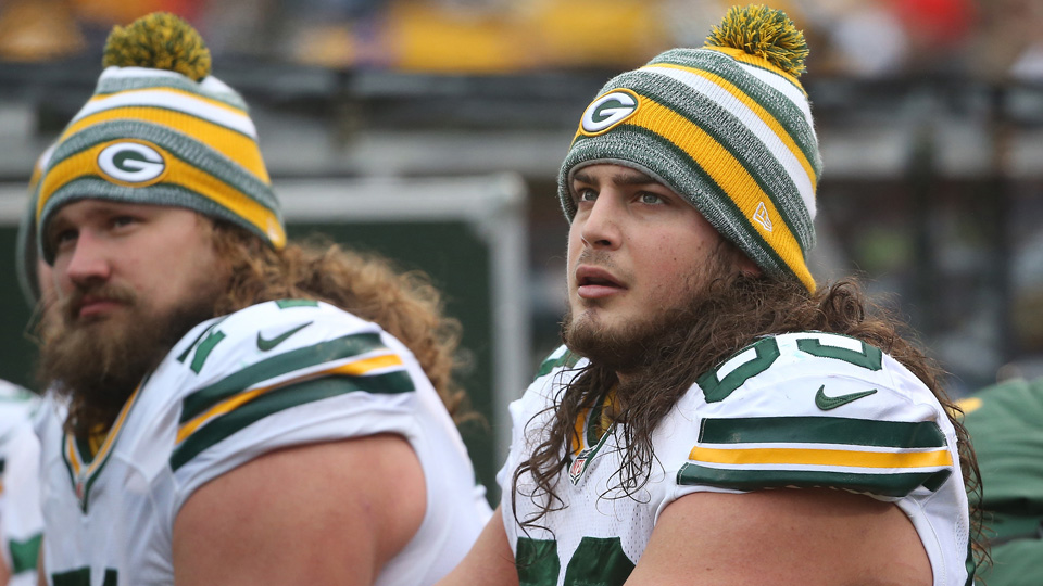 David Bakhtiari (right) introduced the Packers to Settlers of Catan.