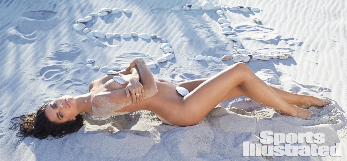 Sara Sampaio was photographed by Ben Watts at the Jersey Shore.