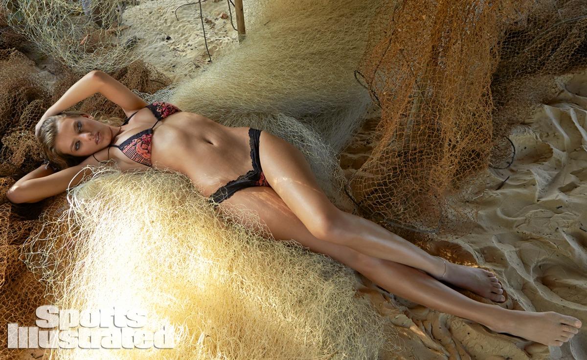 Bregje Heinen was photographed by Raphael Mazzucco in Brazil. Swimsuit by Maui Girl by Debbie Wilson.