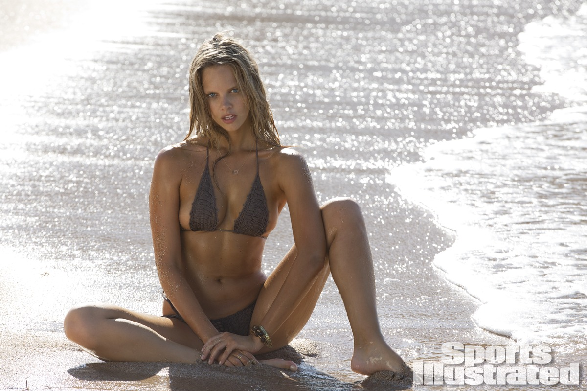 Marloes Horst was photographed by Derek Kettela in Madagascar. Swimsuit by Beauty & the Beach.
