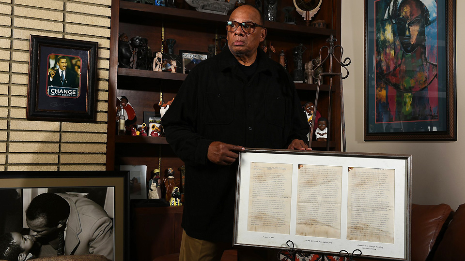George Raveling received a historic document from Martin Luther King Jr. at the March on Washington that contained one surprising omission.