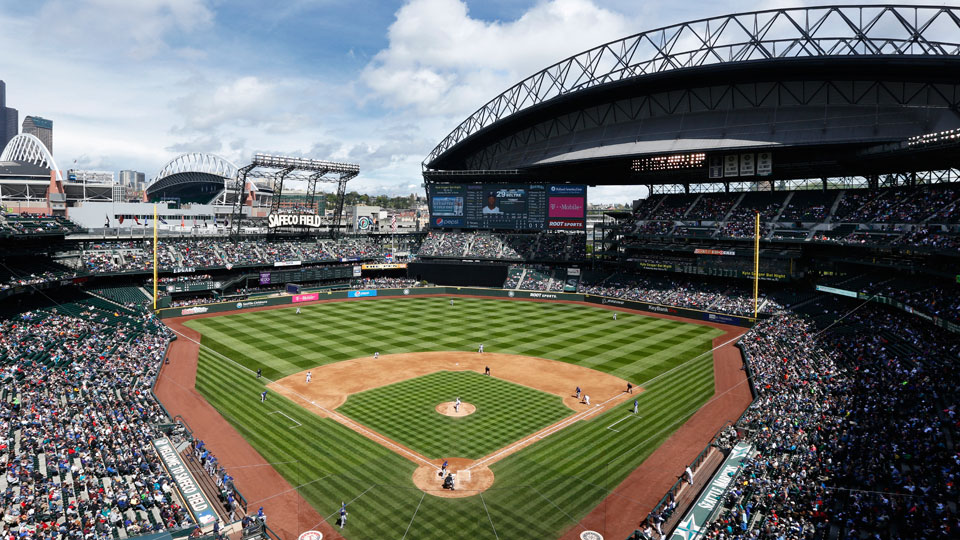 Seattle Mariners Safeco Field To Become First In Mlb With