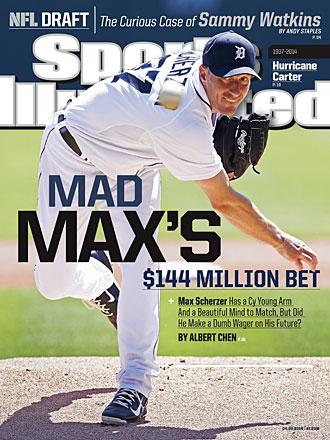 Max Scherzer Sports Illustrated cover