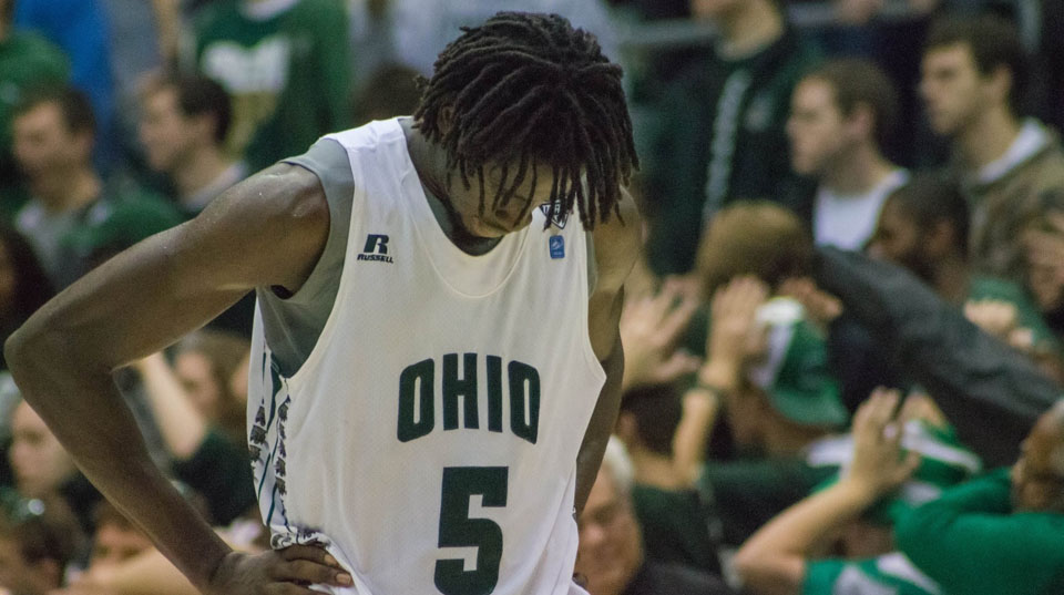 Ohio Bobcats Mac basketball game-winning dunk Maurice Ndour