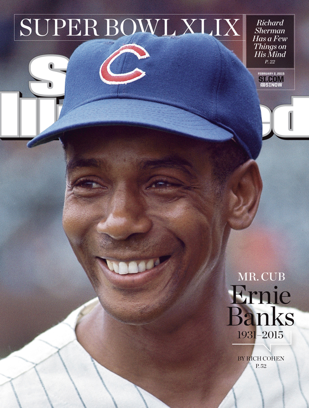 Ernie Banks SI Cover