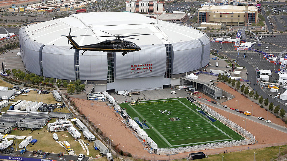 Super Bowl Xlix University Of Phoenix Stadium S