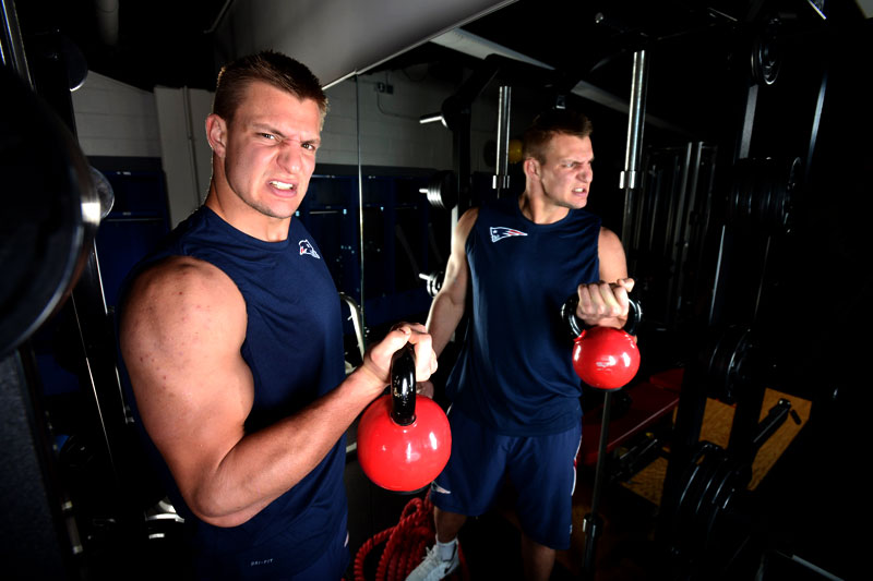 How Patriots Tight End Rob Gronkowski Rediscovered His