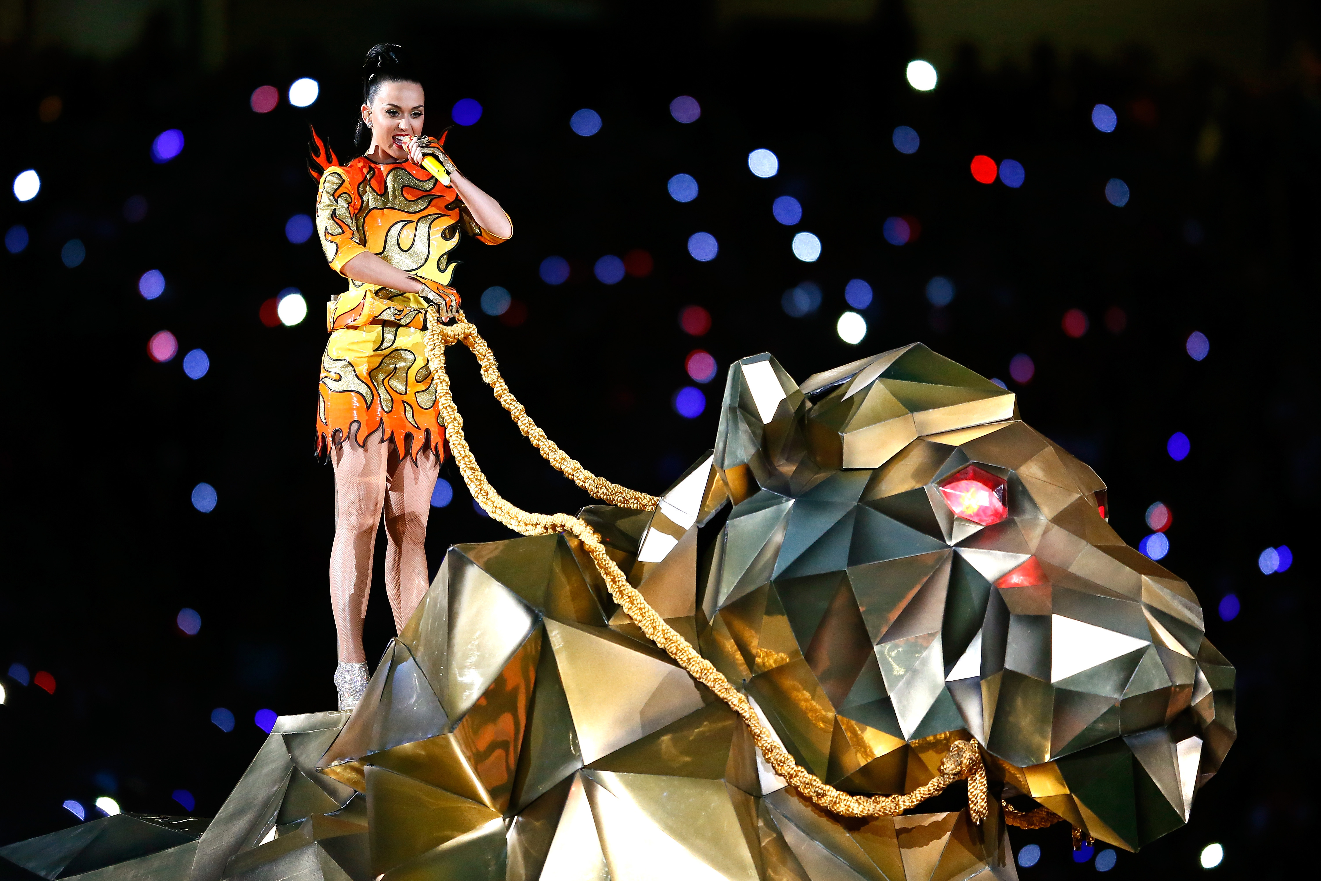 Katy Perry Halftime Show Super Bowl 2015 Performance Si Com