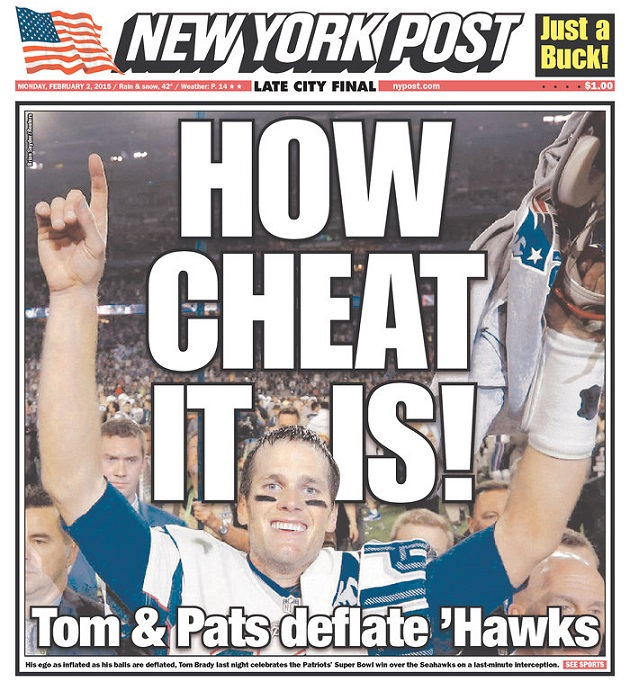 super bowl newspaper front pages new england seattle