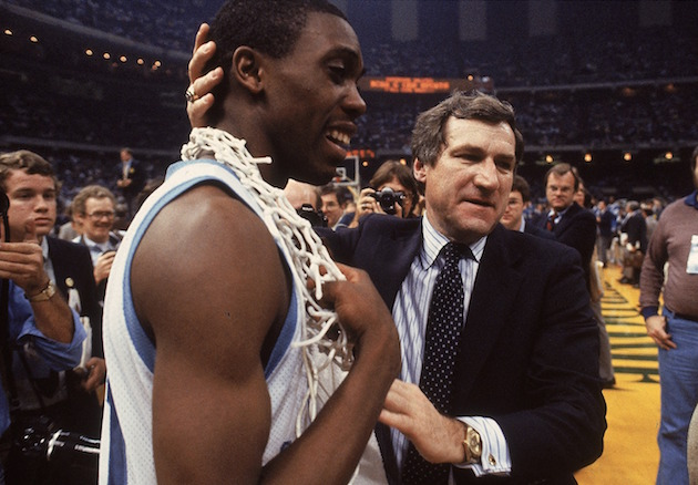 Dean Smith and Jimmy Black