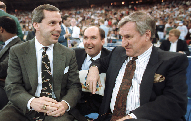Roy Williams and Dean Smith