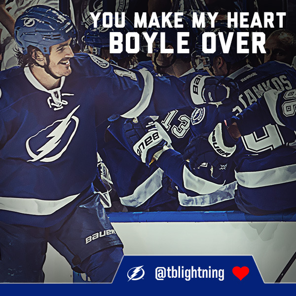 tampa bay lightning valentines day cards
