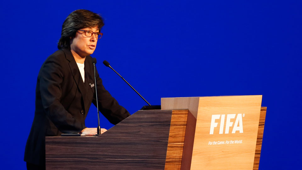 FIFA Executive Committee co-opted member Moya Dodd