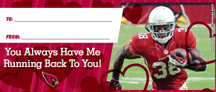 cardinals bring their pun game for valentines day cards