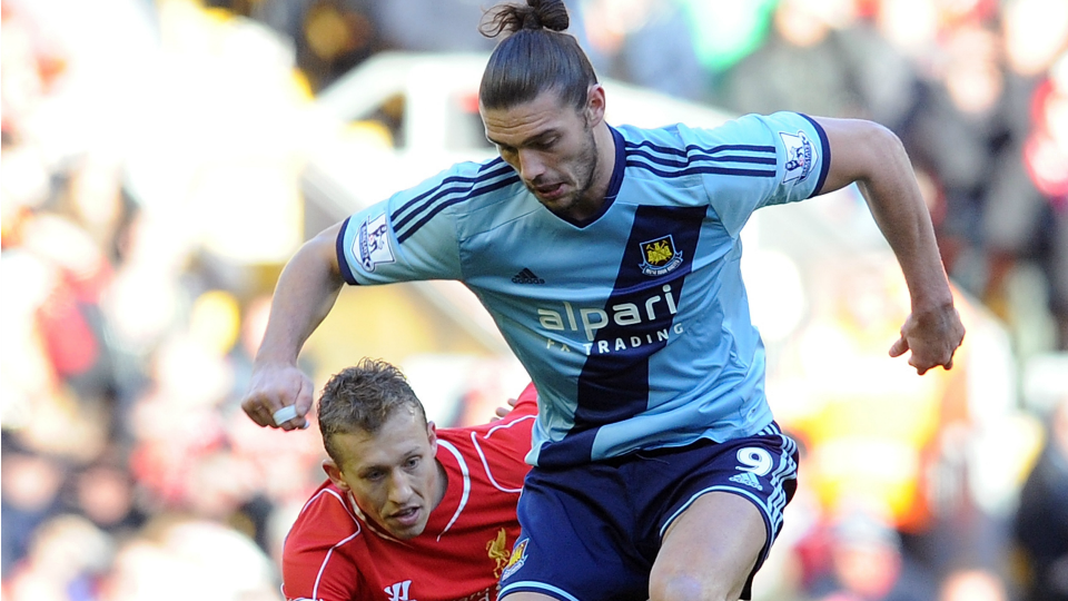 West Ham's Andy Carroll out for season with knee injury