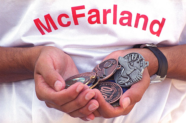 McFarland cross country medals