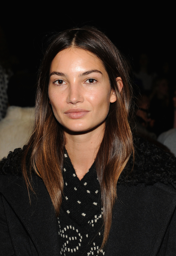 lily aldridge new york fashion week