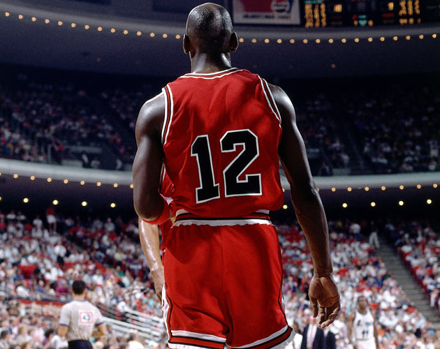 Michael Jordan once wore No. 12 with the Bulls  7557a5af6