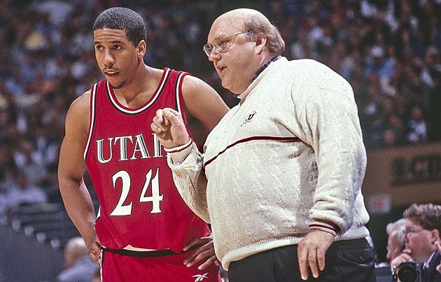 Andre Miller and Rick Majerus, Utah Utes