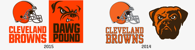 Cleveland Browns new logo unveiled