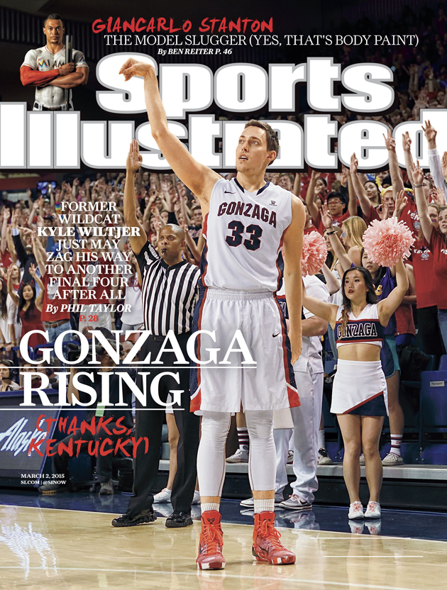 Kyle Wiltjer on this week's SI cover