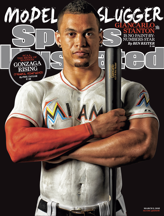 Stanton on SI Cover