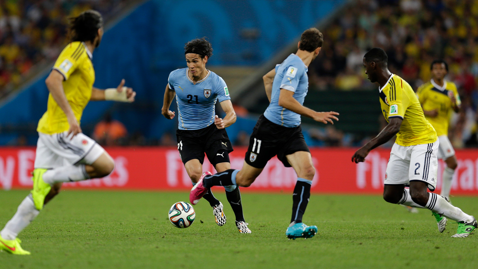 Uruguay, Colombia, 2014 World Cup