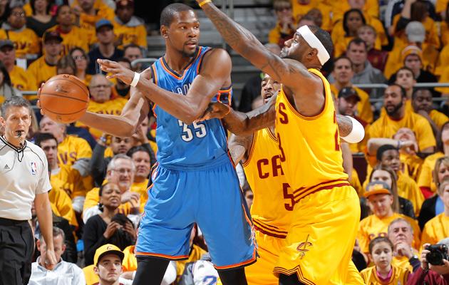 Kevin Durant; LeBron James