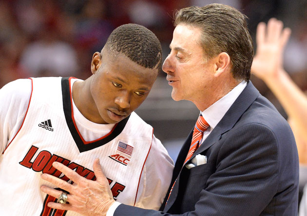 Terry Rozier Rick Pitino