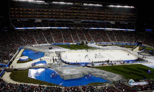 Levi's Stadium NHL game