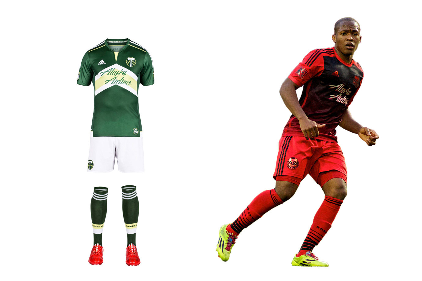 Portland Timbers uniform