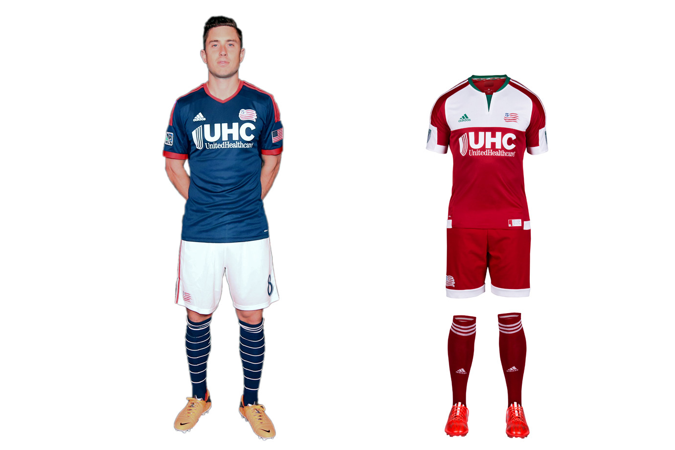 New England Revolution Uniform