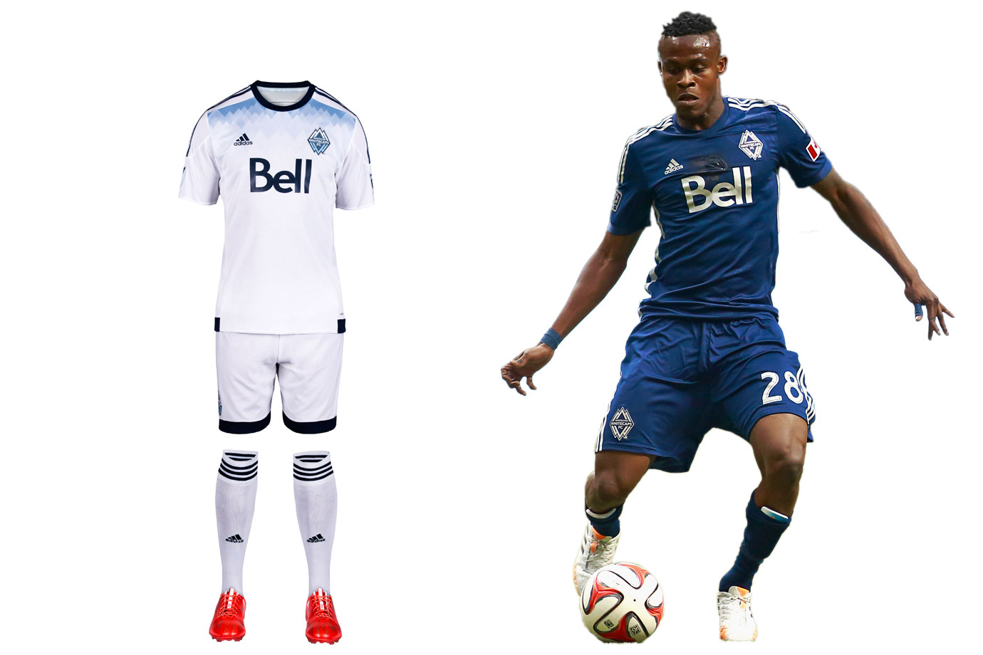Vancouver Whitecaps Uniform