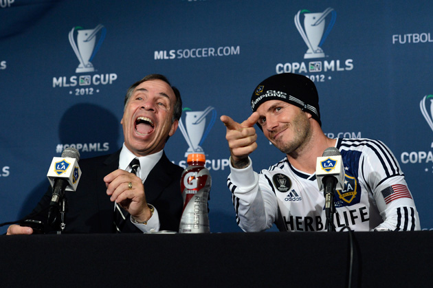 It wasn't always fun and games during the David Beckham era, but it sure ended that way for the LA Galaxy.