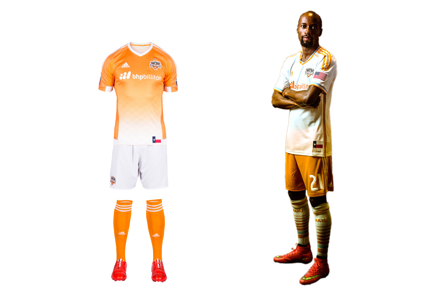 Houston Dynamo uniform