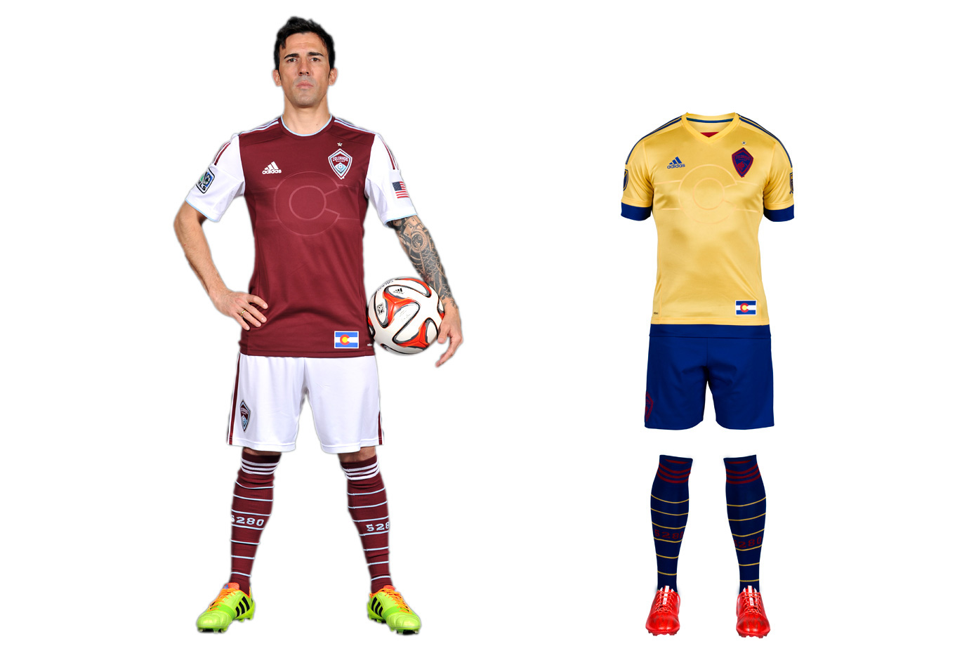 Colorado Rapids uniform