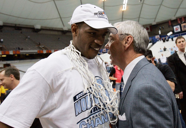 Roy Williams and Rashad McCants