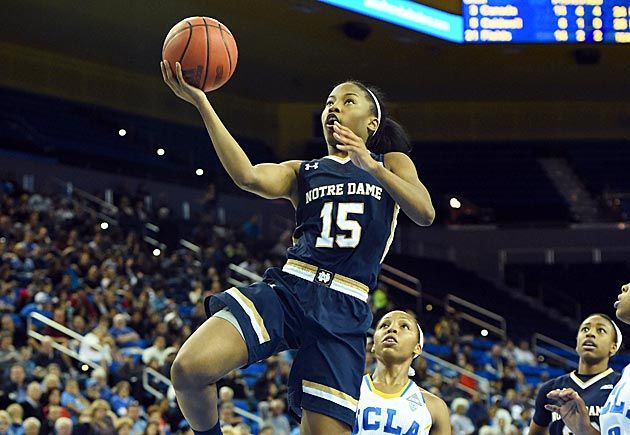 Lindsay Allen Notre Dame women's basketball